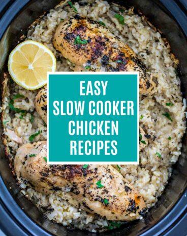 Easy Crockpot Chicken Recipes