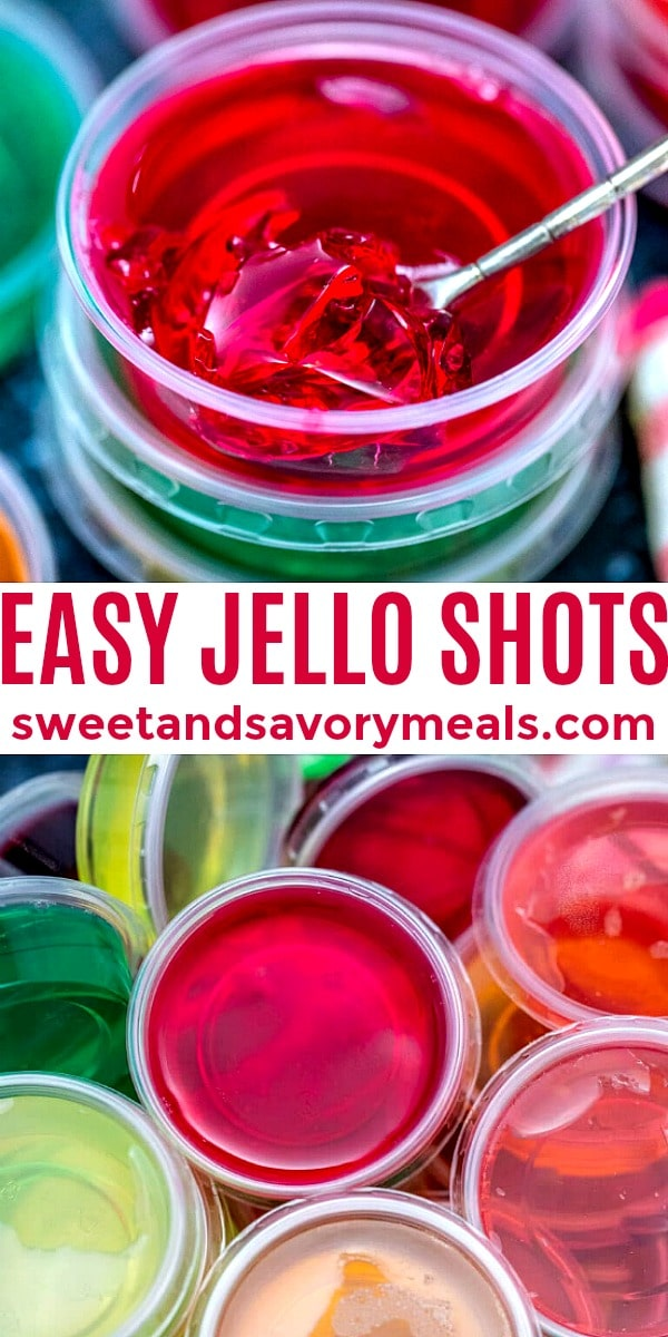 easy homemade jello shots pin