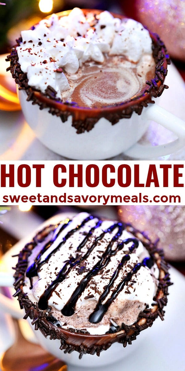 easy hot chocolate pin