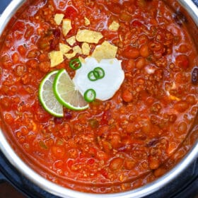 Instant Pot Wendy's Chili Copycat