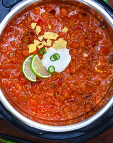 Instant Pot Wendy's Chili Copycat