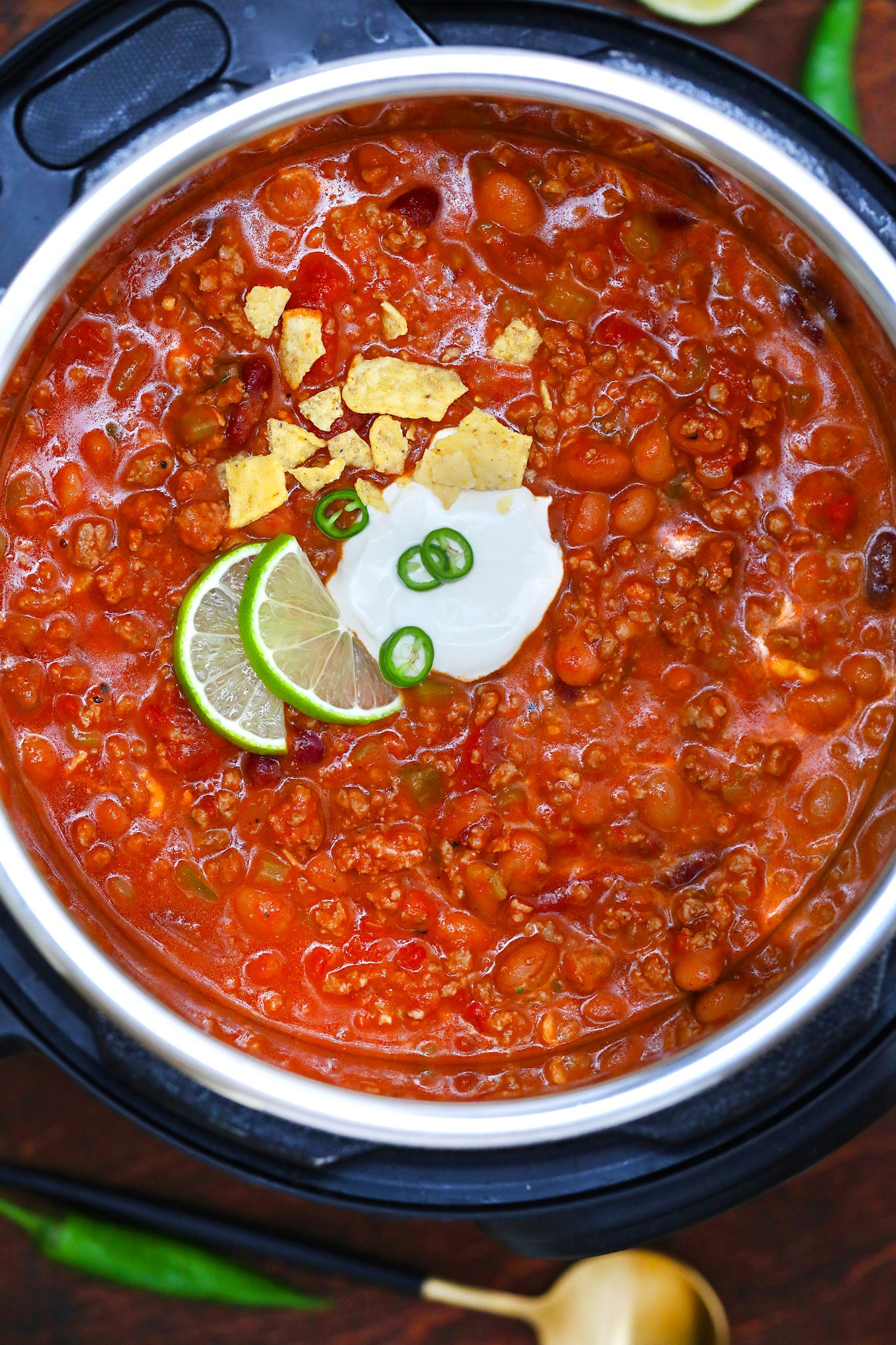 Instant Pot Wendy S Chili Copycat Sweet And Savory Meals