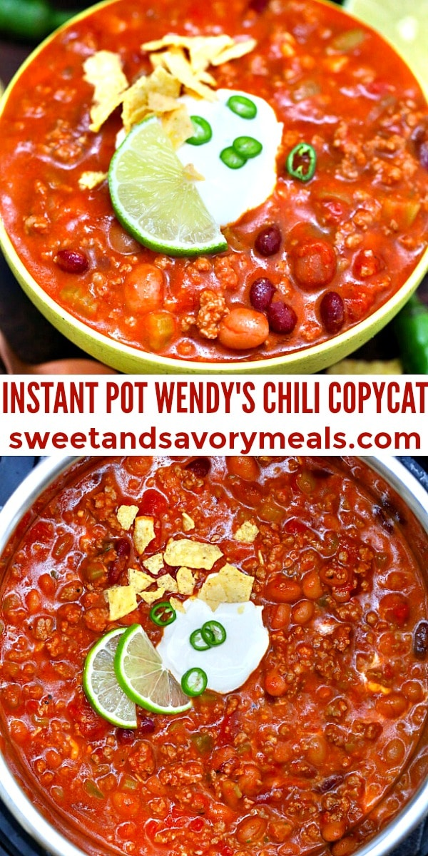 easy instant pot wendy's chili pin