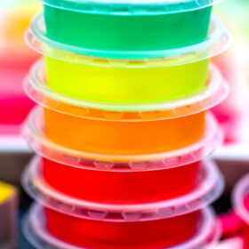 Boozy Jello Shots