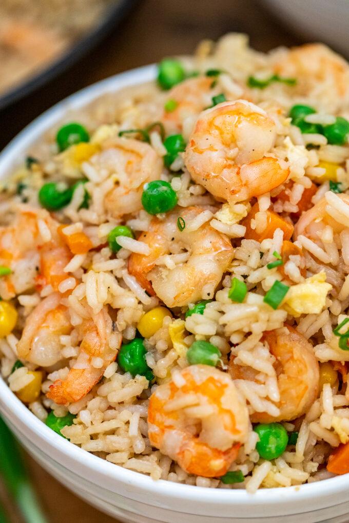 image of shrimp fried rice