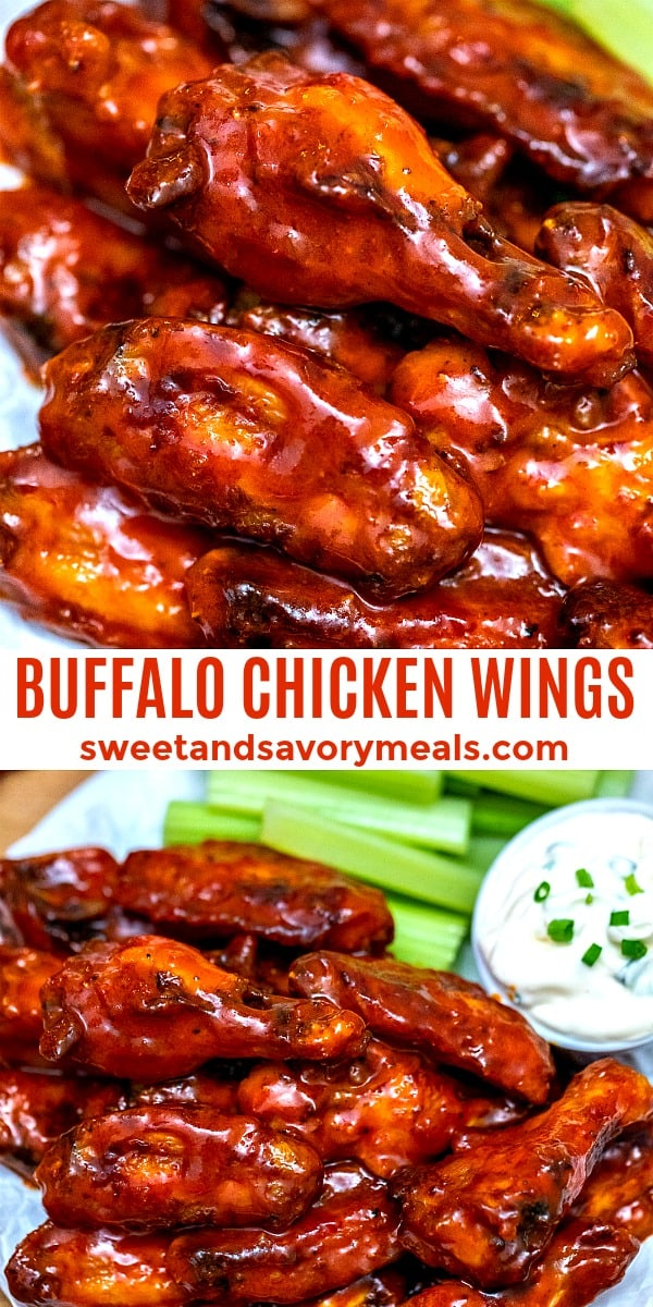 BUFFALO CHICKEN WINGS PIN