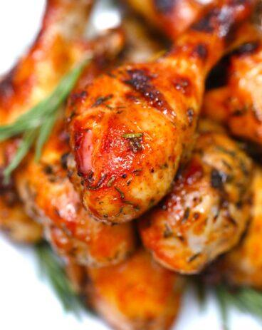 Crispy Baked Chicken Legs