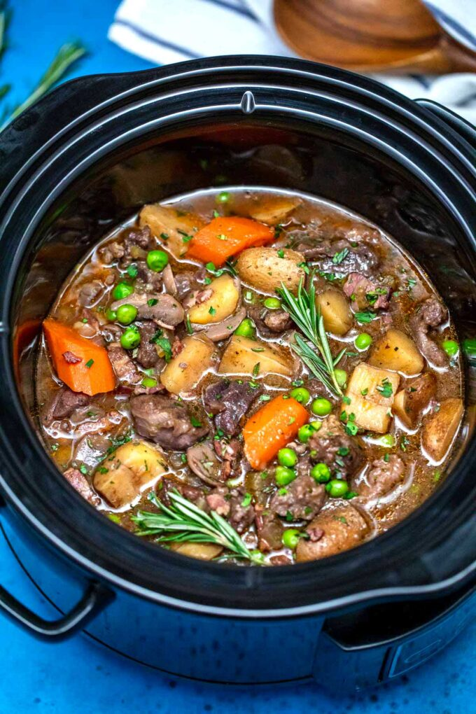 image of crockpot lamb stew