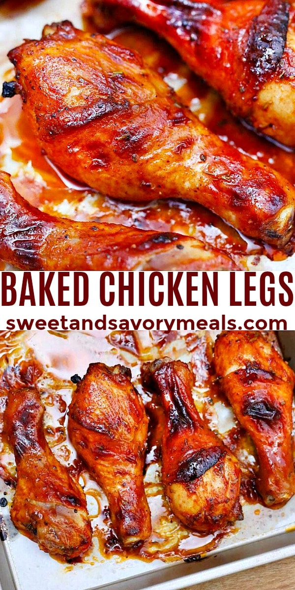 Photo of Baked Chicken Legs.