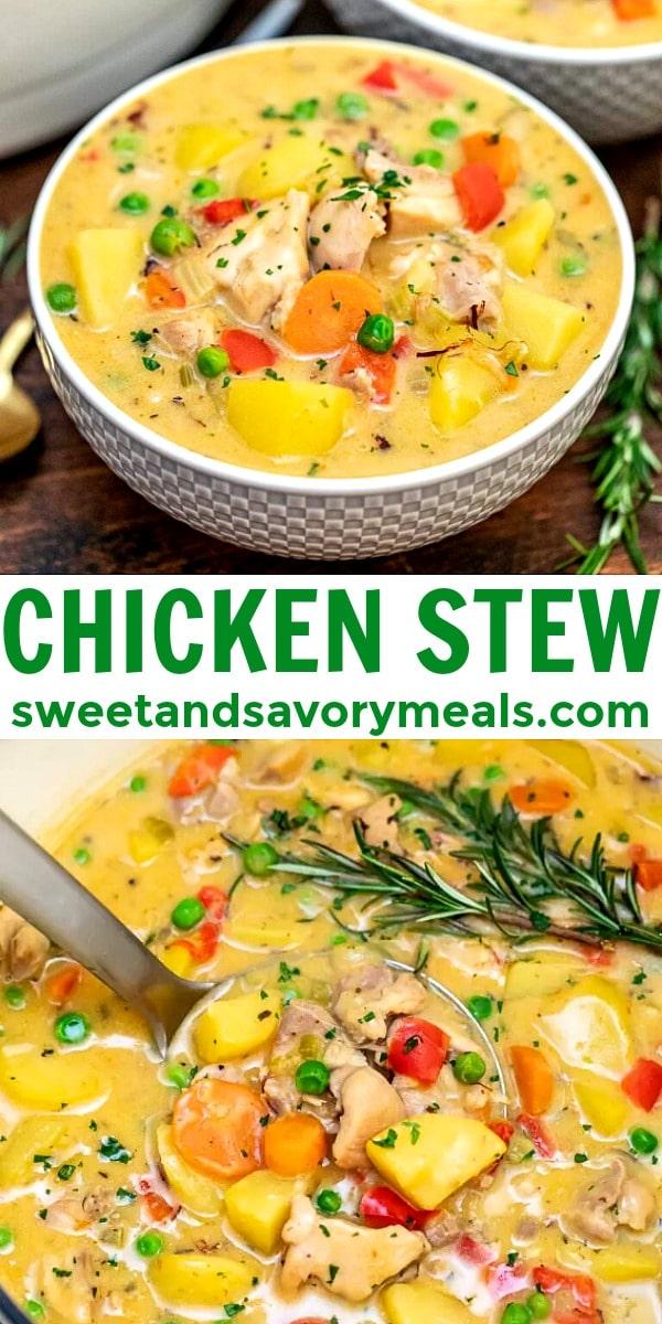 Photo of chicken stew.