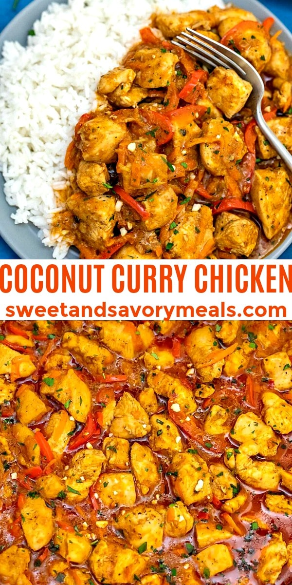 Image of Coconut Curry Chicken.