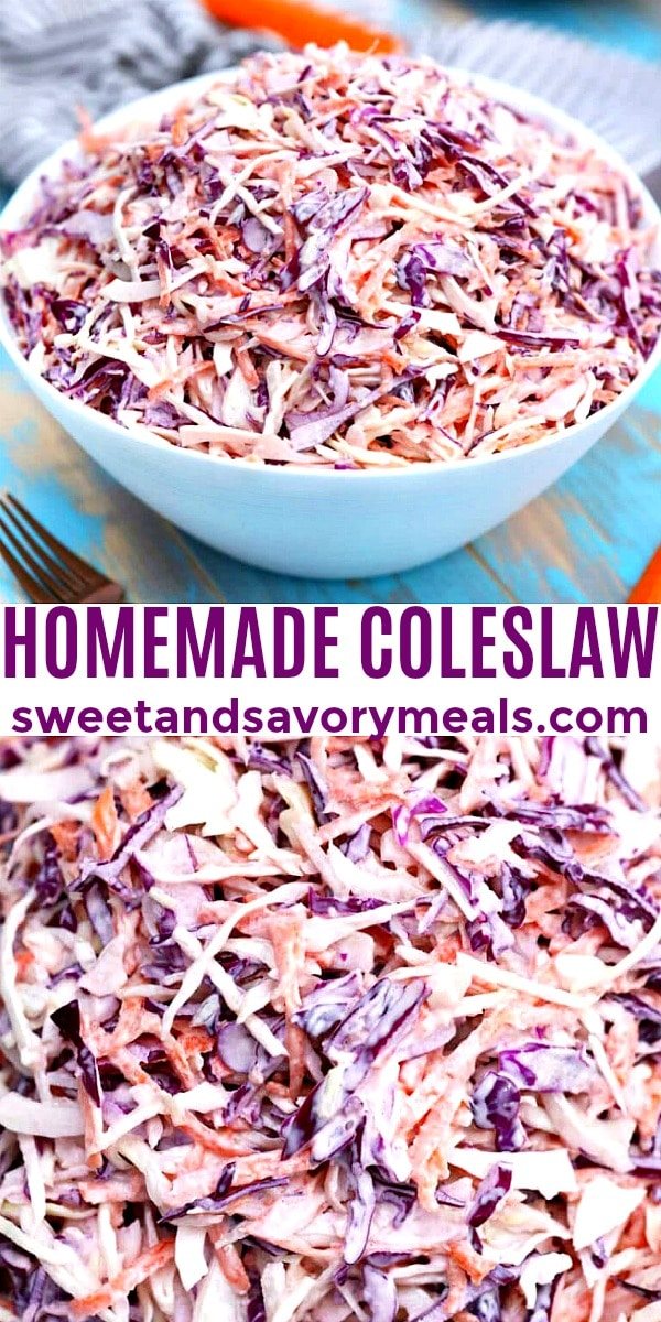 Photo of Homemade Coleslaw.