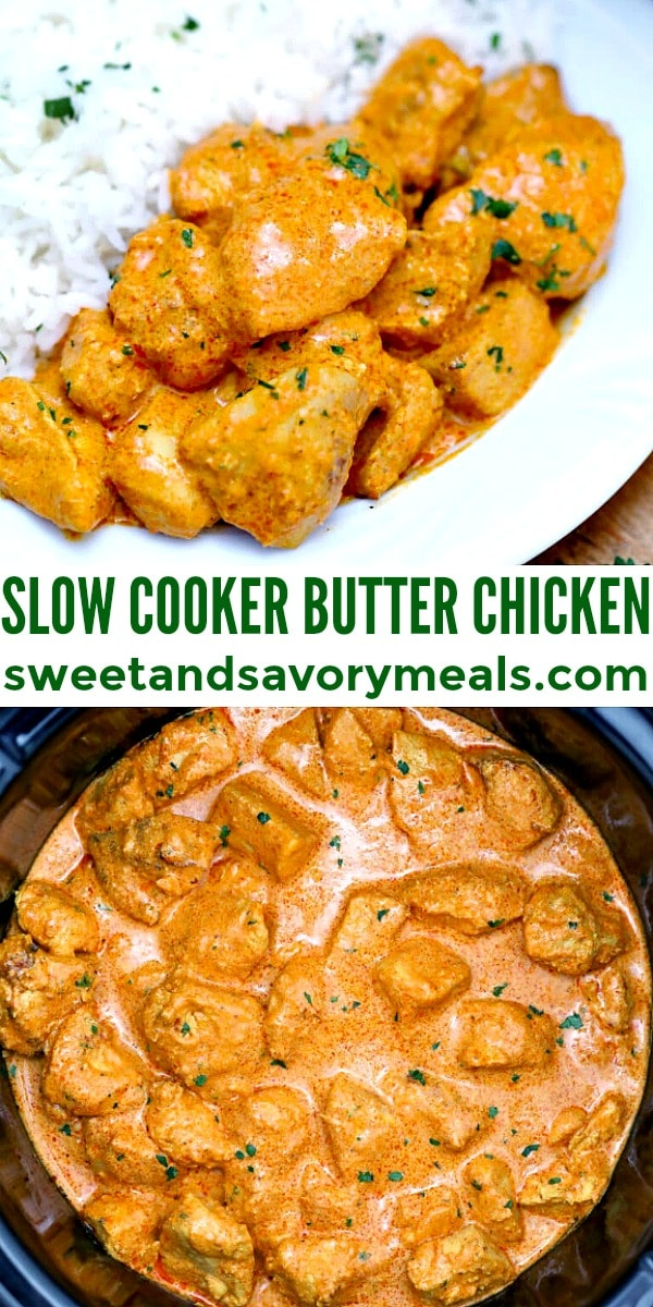 Image of Slow Cooker Butter Chicken.