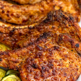image of crispy pork chops
