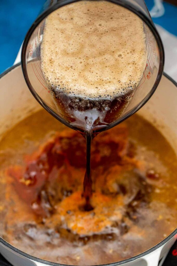 Beer for Irish Guinness beef stew recipe