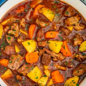 photo of guinness beef stew recipe