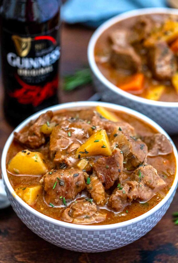 photo of instant pot guinness beef stew recipe