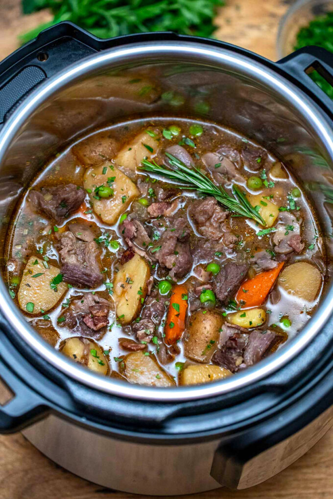 photo of instant pot lamb stew