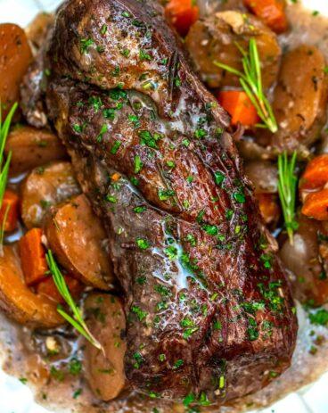 Instant Pot Red Wine Beef Roast