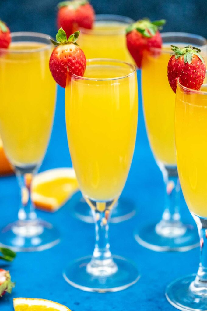 image of mimosa and orange slices