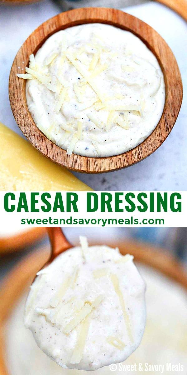 Photo of caesar dressing pin