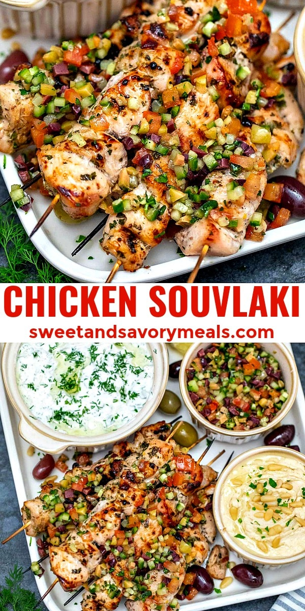photo of chicken souvlaki pin