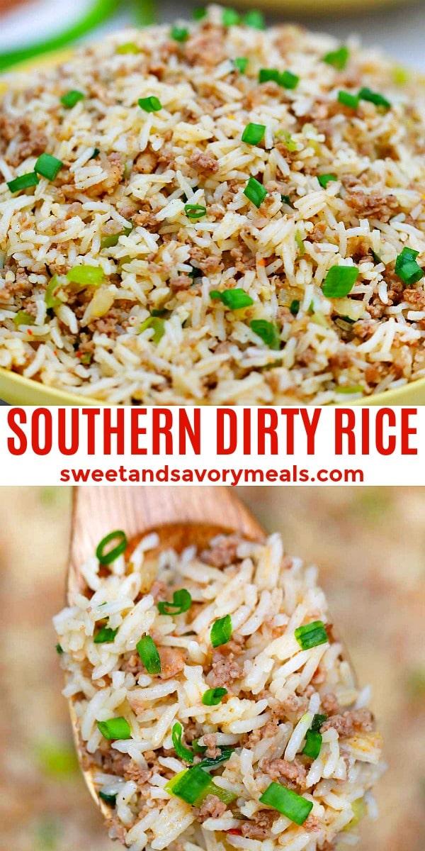 Dirty Rice Pin