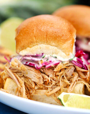 Slow Cooker Pork Carnitas Sliders