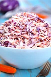 image of coleslaw salad