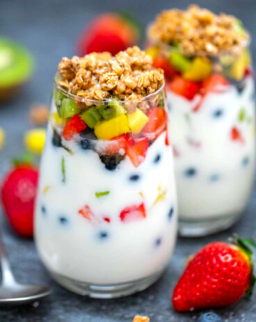 Homemade Yogurt Parfaits