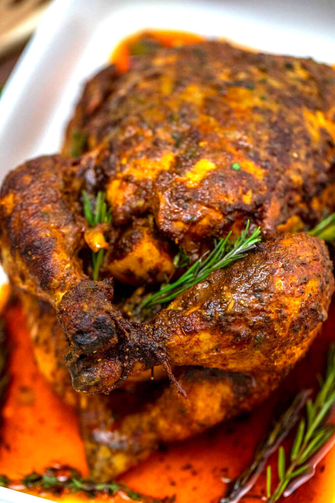 image of roasted chicken.
