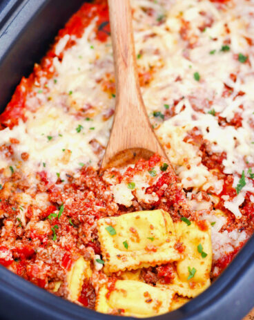 Slow Cooker Lazy Lasagna