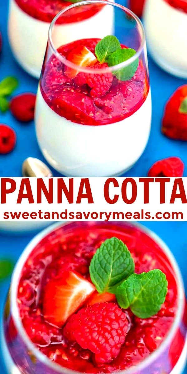 Picture of Panna Cotta.