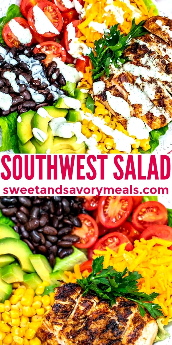 Picture of Southwest Salad.