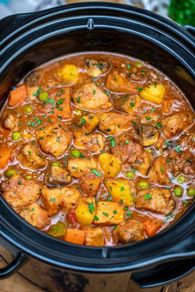 Image of crockpot pork stew.