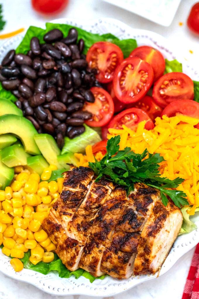 Image of southwest salad.