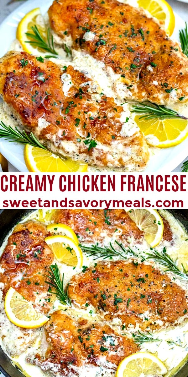 Image of Creamy Chicken Francese.
