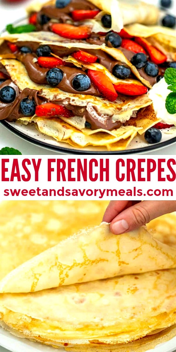 Image of French Crepes.