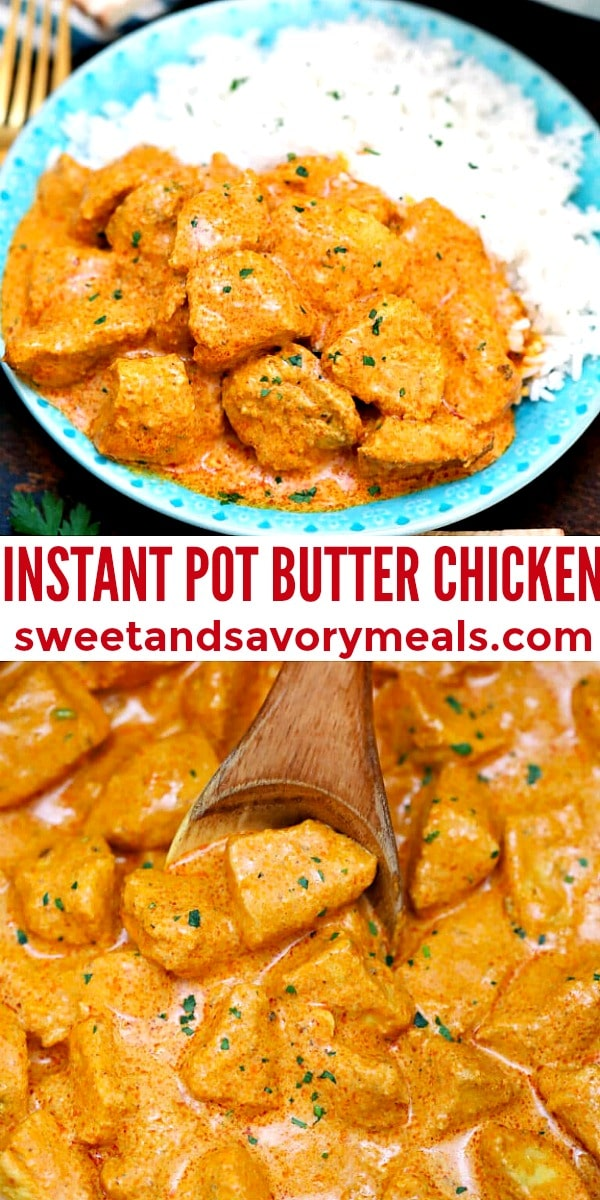 Photo of Instant Pot Butter Chicken.