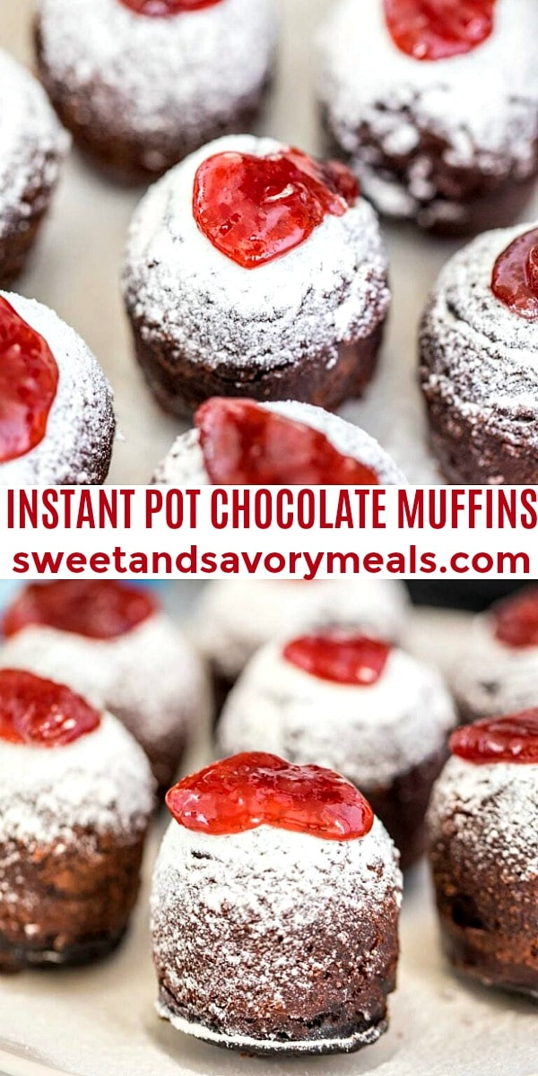 Instant Pot Chocolate Muffins