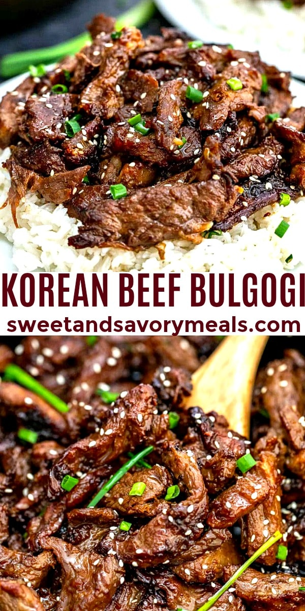 Image of Korean Beef Bulgogi.
