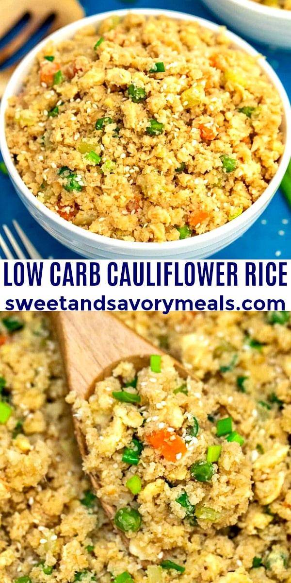 Low Carb Cauliflowe Rice