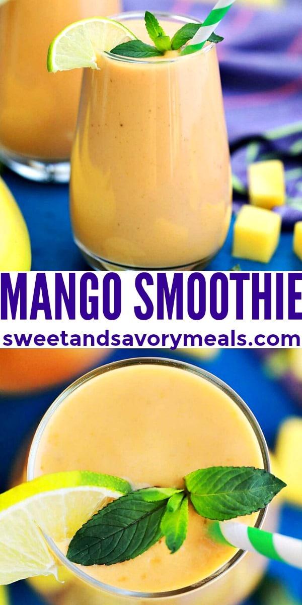 Photo of Mango Smoothie.