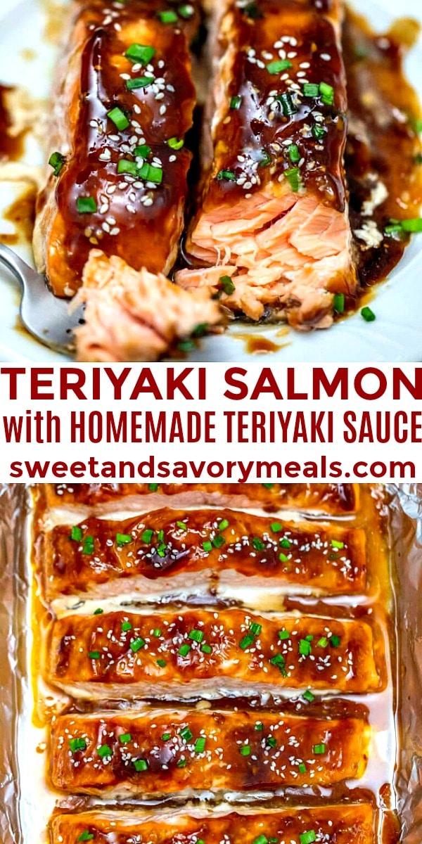 Image of teriyaki salmon.