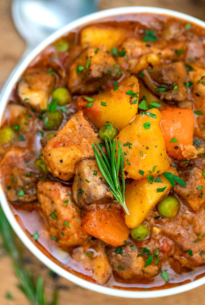 Picture of pork stew.
