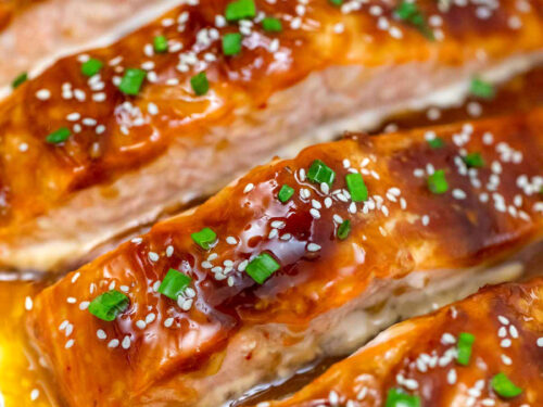 Teriyaki Salmon With Homemade Teriyaki Sauce Sweet And Savory Meals