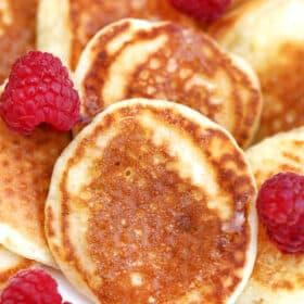 Mini Pancakes or Silver Dollars