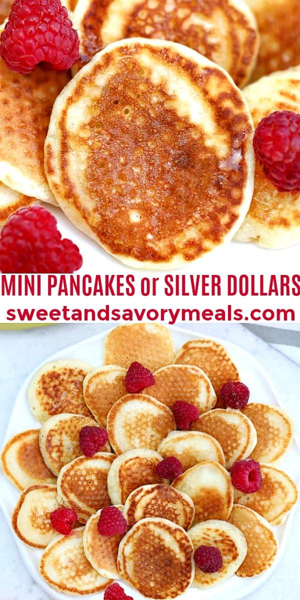 Image of Mini Pancakes or Silver Dollars.