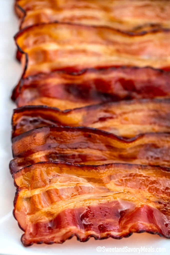 Picture of crispy bacon.