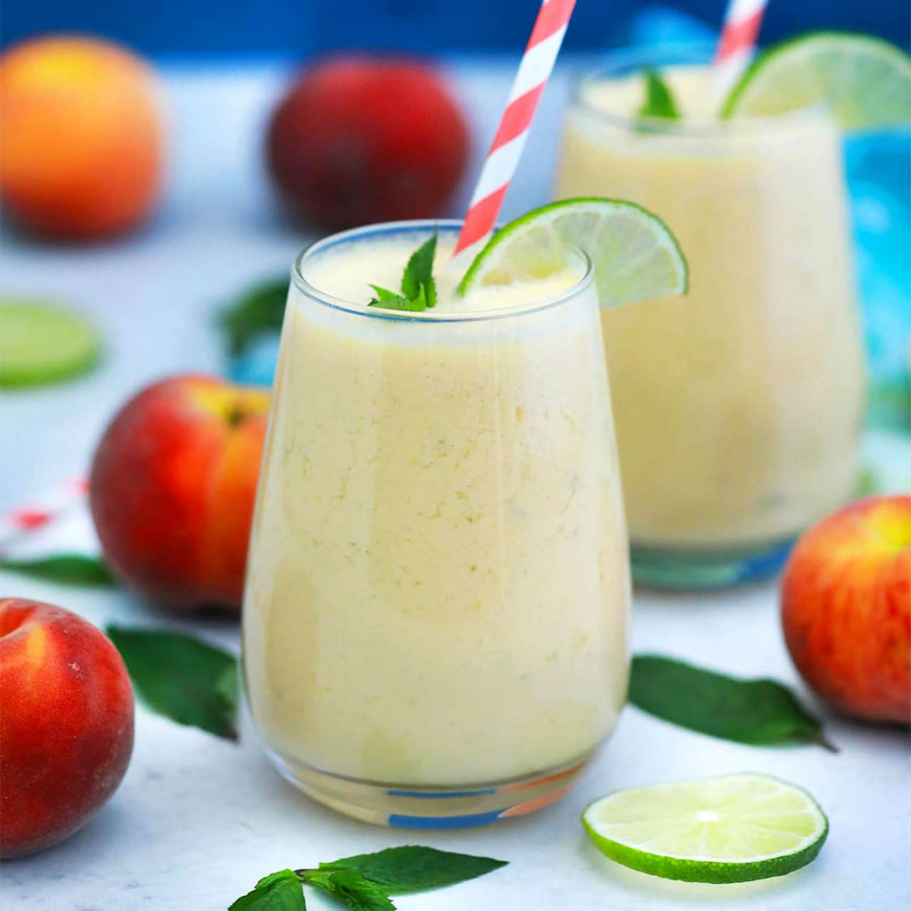Photo of Peach Smoothie – Sweet and Savory Meals
